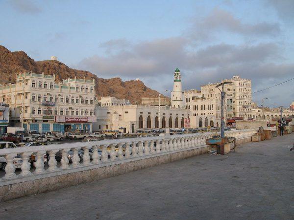 gambar tersebut adalah salah satu kota yang berada di hadramaut yaman