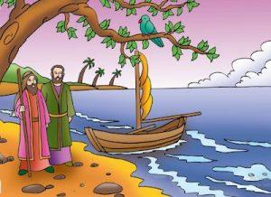 ini adalah suatu persyaratan kepada nabi musa apabila ingin menjadi murid nya nabi khidir