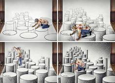 gambar 3 dimensi adalah