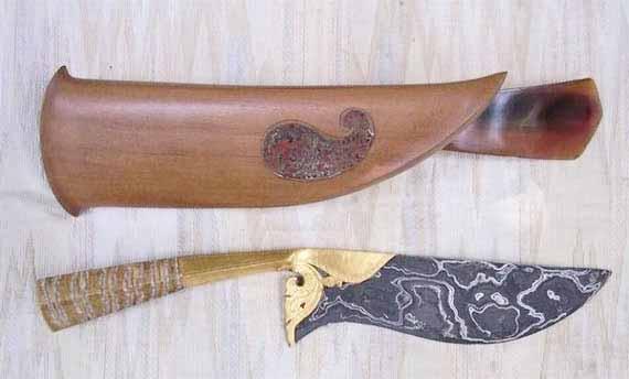 senjata tradisional bali kandik
