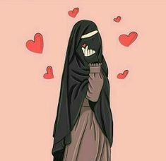 99 Gambar Kartun Muslimah Terkeren Dan Terbaru 2020