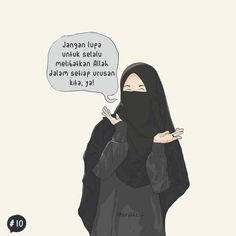 kartun muslimah berhijab