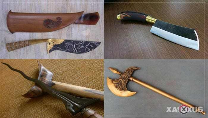 senjata tradisional nusa tenggara barat dan penjelasannya