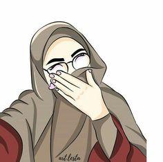 kartun muslimah terbaru keren