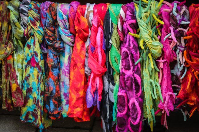 kerajinan tekstil dari kain flanel