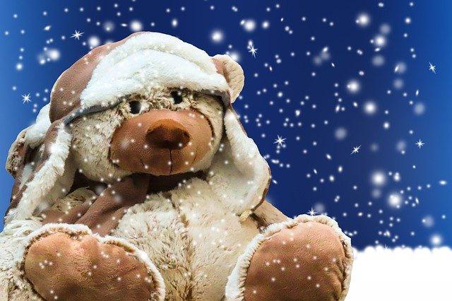 gambar kartun teddy bear lucu