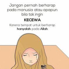 kartun muslimah sedih