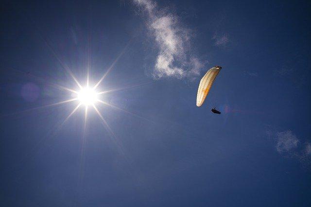 gambar olahraga parasut