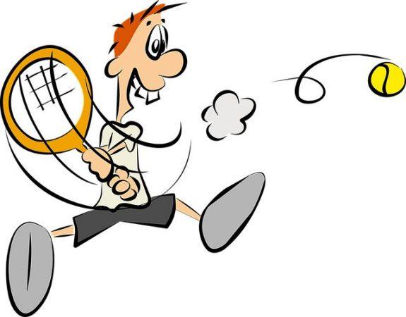 gambar kartun olahraga lucu