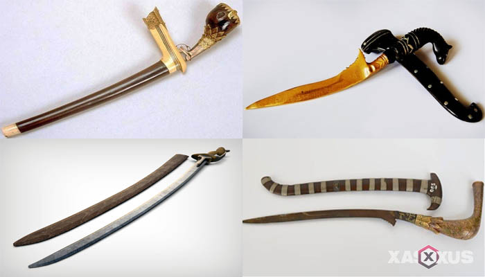 senjata tradisional sumatera utara adalah