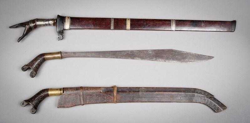 senjata adat sumatera utara