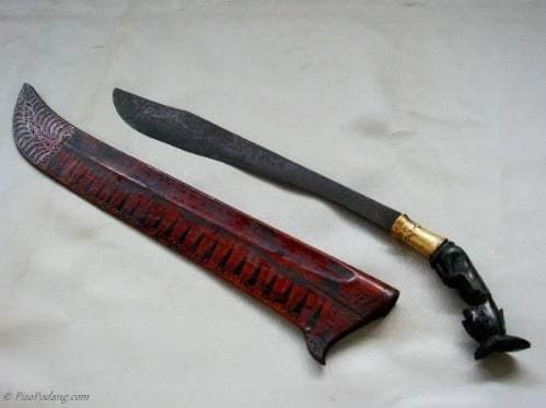 senjata dari sumatera utara